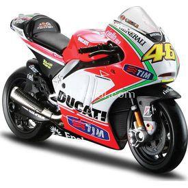 Maisto 1:18 Ducati Valentino Rossi 2012 Model Motosiklet Arabalar
