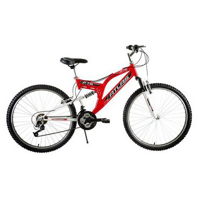 Tunca ATS-517 Atlas 26 Jant 21 Vites Amortisörlü Bisiklet - Kırmızı