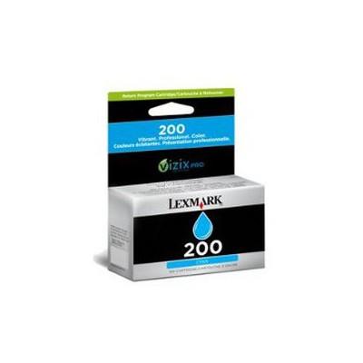 Lexmark 220 14L0086A Mavi Kartuş