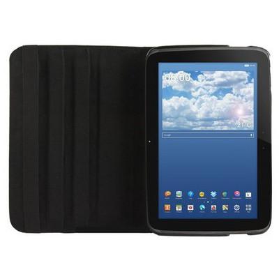 Microsonic 360 Rotating Stand Deri Samsung Google Nexus 10 Kılıf Siyah Tablet Kılıfı