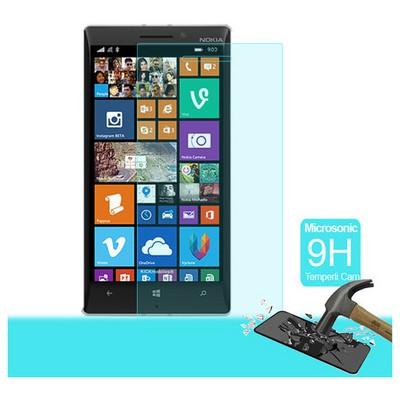 Microsonic Temperli Cam Ekran Koruyucu Nokia Lumia 930 Kırılmaz Film Ekran Koruyucu Film