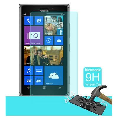 Microsonic Temperli Cam Ekran Koruyucu Nokia Lumia 925 Kırılmaz Film Ekran Koruyucu Film