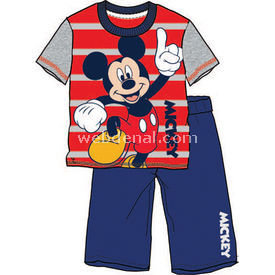 Mickey Mouse Mc3935 Pijama Takımı Grimelanj 7 Yaş (122 Cm) Erkek Bebek Pijaması