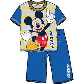Mickey Mouse Mc3935 Pijama Takımı Saks 2 Yaş (92 Cm) Erkek Bebek Pijaması