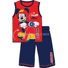 Mickey Mouse Mc3929 Pijama Takımı Kırmızı 7 Yaş (122 Cm) Erkek Bebek Pijaması
