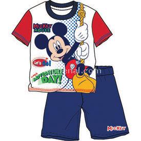 Mickey Mouse Mc3931 Pijama Takımı Kırmızı 6 Yaş (116 Cm) Erkek Bebek Pijaması