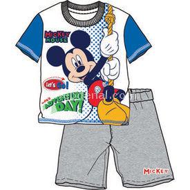 Mickey Mouse Mc3931 Pijama Takımı Saks 2 Yaş (92 Cm) Erkek Bebek Pijaması
