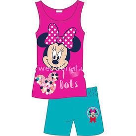 Minnie Mouse Mn3867 Kız Pijama Takımı Pembe 5 Yaş (110 Cm) Kız Bebek Pijaması