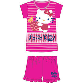 Hello Kitty Hk3897 Kız Pijama Takımı Fuşya 2 Yaş (92 Cm) Kız Bebek Pijaması