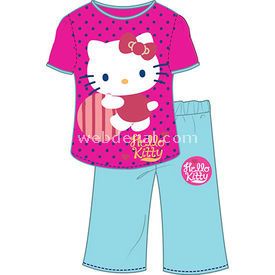 Hello Kitty Hk3900 Kız Pijama Takımı Fuşya 3 Yaş (98 Cm) Kız Bebek Pijaması