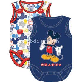 Mickey Mouse Mc4212 Erkek 2 Li Body Lacivert 18-24 Ay (86-92 Cm) Erkek Bebek Body