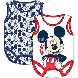 Mickey Mouse Mc4206 Erkek 2li Body Beyaz 12-18 Ay (80-86 Cm) Erkek Bebek Body