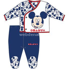 Mickey Mouse Mc4260 Erkek 2li Zıbın Takım Lacivert 3-6 Ay (62-68 Cm) Erkek Bebek Takım