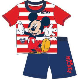 Mickey Mouse Mc4263 Erkek Pijama Takım Lacivert 9-12 Ay (74-80 Cm) Erkek Bebek Takım