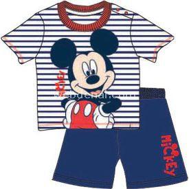 Mickey Mouse Mc4262 Erkek Pijama Takımı Lacivert 9-12 Ay (74-80 Cm) Erkek Bebek Pijaması