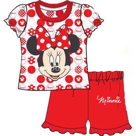 Minnie Mouse Mn4399 Şortlu ı Kırmızı 12-18 Ay (80-86 Cm) Kız Bebek Takım