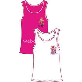 Winx 8810 2li Kız Atleti Fuşya 5 Yaş (110 Cm) Kız Bebek Çamaşırı