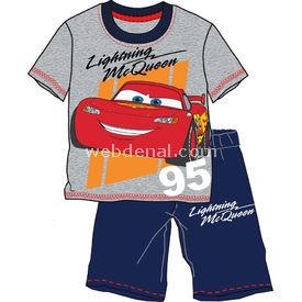 Cars 4059 Erkek Bebek Pijama Takımı Gri 6 Yaş (116 Cm) Erkek Bebek Pijaması