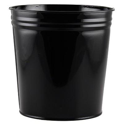 MAS Çöp Kovası Metal 10 L (853) Siyah Çöp Kovaları