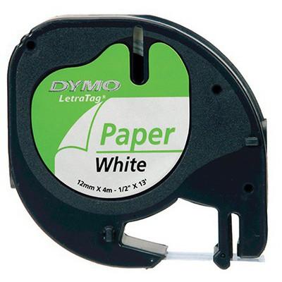 Dymo Letratag  Kağıt Beyaz (59421) Etiket