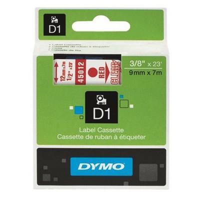 dymo-d1-yedek-serit-9-mm-x-7-mt-beyaz-kirmizi