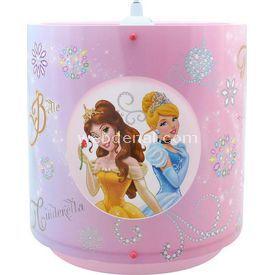 YKC Disney Prenses Ikili Tavan Sarkıt Lamba & Abajur