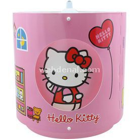 YKC Hello Kitty Pencereli Tavan Sarkıtı Lamba & Abajur