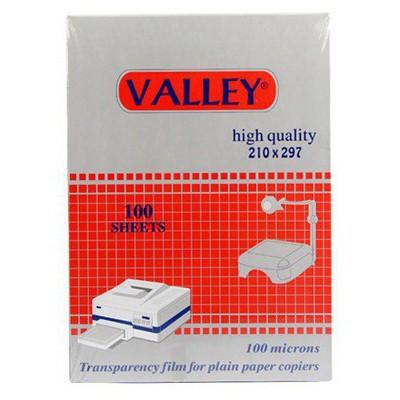 Valley A4 Asetat Kağıdı 100 Micron Özel Kağıt
