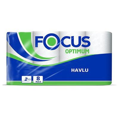 Focus Optimum  90 Yaprak 8 Adet Rulo Kağıt Havlu