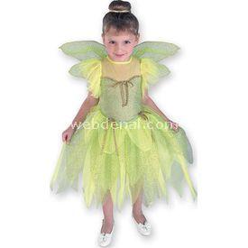 Rubies Orman Perisi Lüks Çocuk Kostüm 8-10 Yaş Kostüm & Aksesuar
