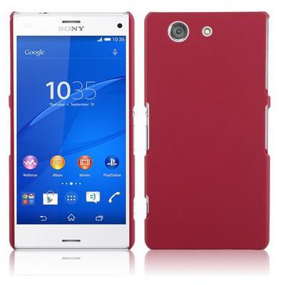 Microsonic Premium Slim Sony Xperia Z3 Compact (z3 Mini) Kılıf Kırmızı Cep Telefonu Kılıfı