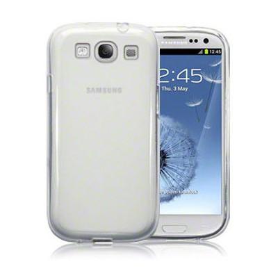 Microsonic Kristal Şeffaf Kılıf - Samsung Galaxy I9300 S3 Cep Telefonu Kılıfı