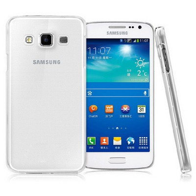 Microsonic Kristal Şeffaf Samsung Galaxy E5 Kılıf Cep Telefonu Kılıfı