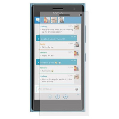 Microsonic Ultra Şeffaf Ekran Koruyucu Nokia Lumia 735 Film Ekran Koruyucu Film