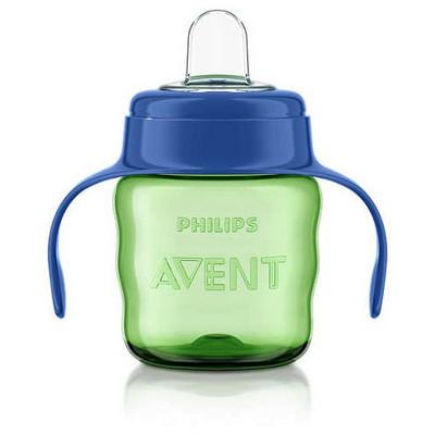 Philips Avent Philips Scf551/05 Eğitici Damlatmaz Bardak 6m 200ml Yeşil-mavi Bebek Besleme