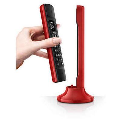 Philips M3301-Kırmızı 50 Handsfreendsfree Telsiz Telefon