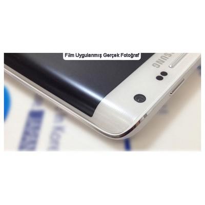 Microsonic Samsung Galaxy S6 Edge Kavisler Dahil Tam Ekran Kaplayıcı Şeffaf Koruyucu Film Ekran Koruyucu Film