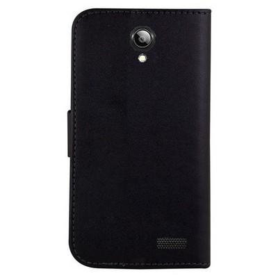Microsonic Cüzdanlı Deri Lenovo A319 Kılıf Siyah Cep Telefonu Kılıfı