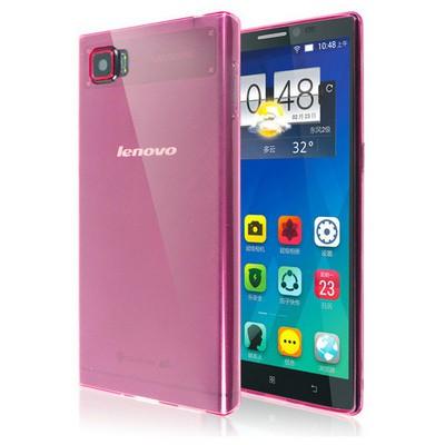 Microsonic Transparent Soft Lenovo Vibe Z2 Pro Kılıf Pembe Cep Telefonu Kılıfı