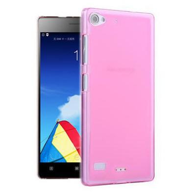 Microsonic Transparent Soft Lenovo Vibe X2 Kılıf Pembe Cep Telefonu Kılıfı