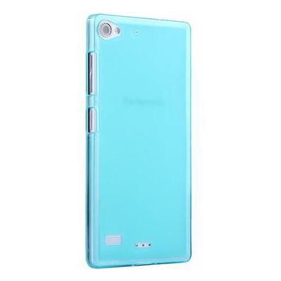 Microsonic Transparent Soft Lenovo Vibe X2 Kılıf Mavi Cep Telefonu Kılıfı