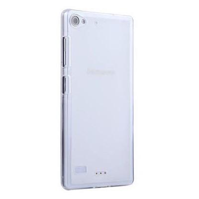 Microsonic Transparent Soft Lenovo Vibe X2 Kılıf Beyaz Cep Telefonu Kılıfı