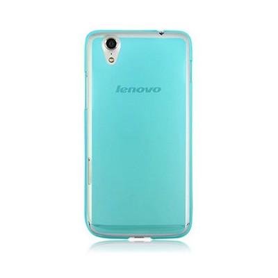 Microsonic Transparent Soft Lenovo S850 Kılıf Mavi Cep Telefonu Kılıfı