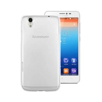 Microsonic Transparent Soft Lenovo S850 Kılıf Beyaz Cep Telefonu Kılıfı