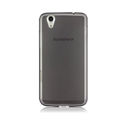 Microsonic Transparent Soft Lenovo S850 Kılıf Siyah Cep Telefonu Kılıfı