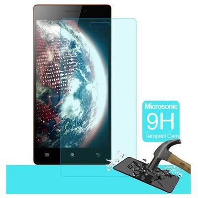 Microsonic Temperli Cam Ekran Koruyucu Lenovo Vibe X2 Kırılmaz Film Ekran Koruyucu Film