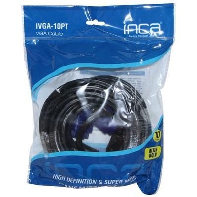 Inca IVGA-10PT 10 Metre Vga to Vga Kablo Ses ve Görüntü Kabloları