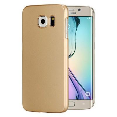 Microsonic Premium Slim Kılıf Samsung Galaxy S6 Edge Kılıf Gold Cep Telefonu Kılıfı