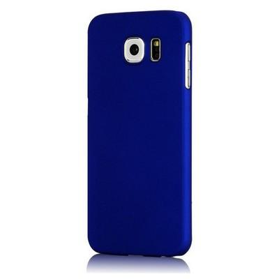 Microsonic Premium Slim Kılıf Samsung Galaxy S6 Edge Kılıf Mavi Cep Telefonu Kılıfı