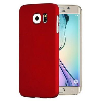 Microsonic Premium Slim Kılıf Samsung Galaxy S6 Edge Kılıf Kırmızı Cep Telefonu Kılıfı